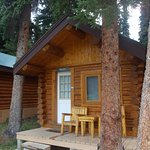 Exterior of our cabin