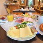 Frühstück im Art- Hotel Weingarten