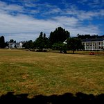 Parade grounds at Fort Worden.