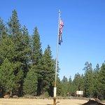 Flag Poles, La Pine State Park, La Pine, Oregon