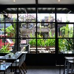 Fika is located on Batu Bolong, 400 meters from the beach.