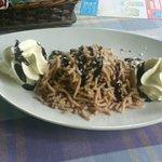 Chestnut rice, a great desert