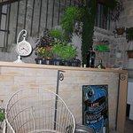 Bar in the atrium