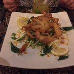 Vorspeise Frittierte Krabbe