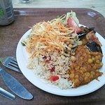 Salad-y meal at Blue Moon