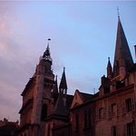 La chiesa al tramonto