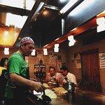 Hiroshima-style okonomiyaki with a twist