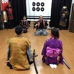 Samurai lessons with Botang-san and Yabe-san