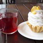 Столовая Фламинго: 1 чай + 1 пироженка = 85 руб.