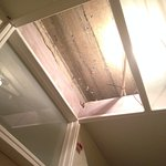 c'est le plafond du couloir accédant à notre chambre