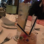 Strawberry orange caipiroska and Harrys french frizz