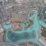 Burj Khalifa 125. emeletről