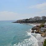 Vistas desde el Balcón de Europa