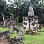 Buddha Park Foto