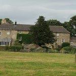 Back of the Coach Inn. Garden and Fields