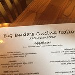 BG Buda's Cucina Italiana