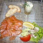 saumon (un peu gras)