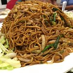 "Fried noodles is the final dish in a meal - it serves as a ""filler"", in case one is still hungry"