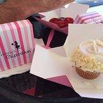 My vivacious vanilla cupcake