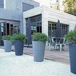Une terrasse au calme dans un cadre exceptionnel