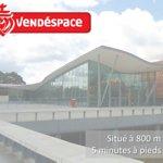A 800 metres du Vendespace