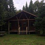 Evergreen Cabin Exterior