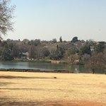 Botanischer Garten und Emmarentia-Damm Johannesburg Foto