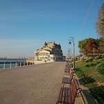 Walk down to the old Casino of Constanta