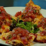 Try the Crab nachos!