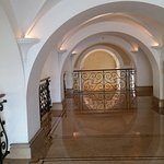 Lovely arches all over the lobby areas