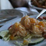 Peach Shrimp