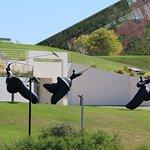 Sculptures ornant tout le parc
