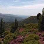 Vista da Serra da Freita, Arouca, em direção à Ria de Aveiro