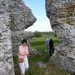 Richborough Roman Fort and Amphitheatre Foto