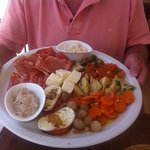 sharing tapas platter