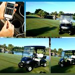 Bonaventures new golf carts