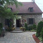 Picturesque grounds & front entrance of Villa Armando