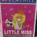 Playbill from the show