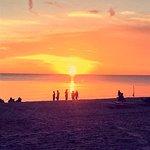 Sunset from Vanderbilt Beach at Baleen Naples Restaurant