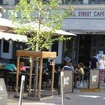 la brasserie et la terrasse