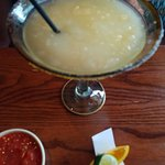 Razorback margarita always good food and amazing cocktails