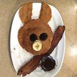 Bob Evans Little Piggy pancakes