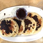 Bob Evans chocolate chip pancakes