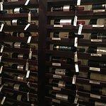 Lots of wine.