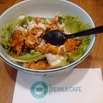 Salad Bowl with Butter Chicken