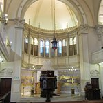 Ark in the synagogue. Holds over 100 Torah Scrolls
