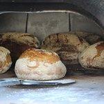 Four à pain dans le jardin