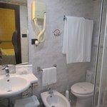 Room 108's Shower room