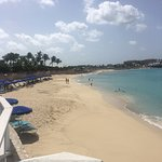 Beautiful Caribbean beach and then...the plane!