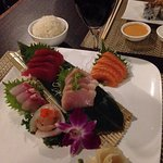 The Sashimi dinner is still the best bet on the menu !